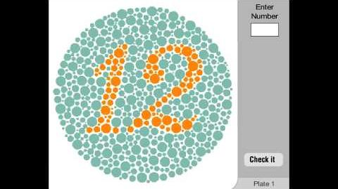 Color Vision Deficiency Test