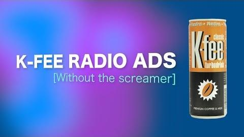 All 4 K-fee radio ads without the screamers (English & German)