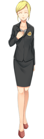 Secretary-happy