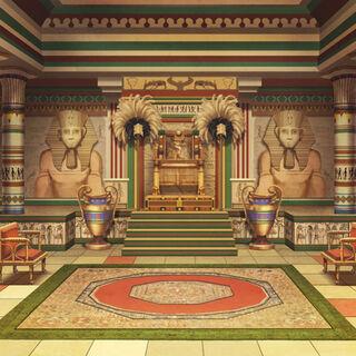 Wnętrze sali pałacu