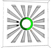 Green Puzzle Door