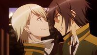 Takeru's hostility