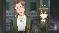 Kyouya and Akira