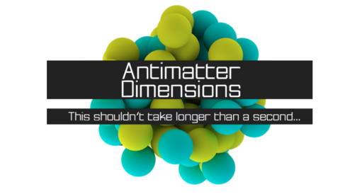Antimatter dimensions logo