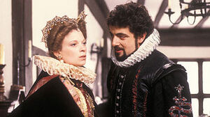 Lady Farrow and Lord Blackadder