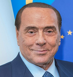 Berlusconi portrait
