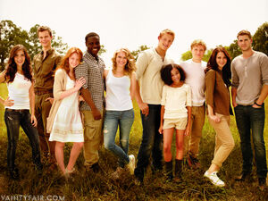 Cast of hunger games