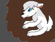 Omega jak była małym szczeniakiem by Cleopatera