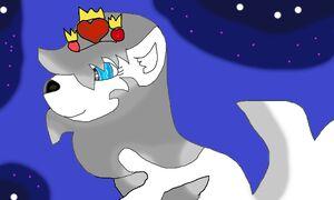 Omega w koronie w mświetlegwiazdbycleo