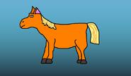 Merka horse by Hubrii