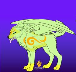Uok skrzydlaty wojownik by Cleo