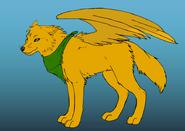 Merka wolf by Hubrii
