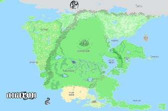 Anuron Continent Geography Map