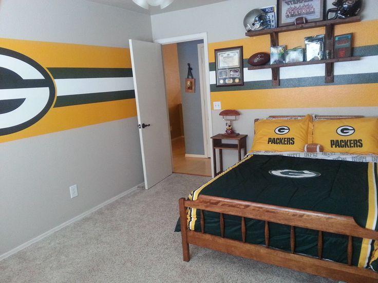 Green Bay Packers Bedroom Jpeg