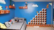 Super Mario-Themed Bedroom