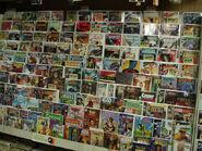Totally 60's Comic Book Shelf