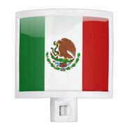 Mexican Flag Night Light