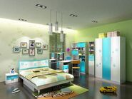 Futuristic Boys Bedroom