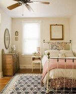 Country Girl Bedroom