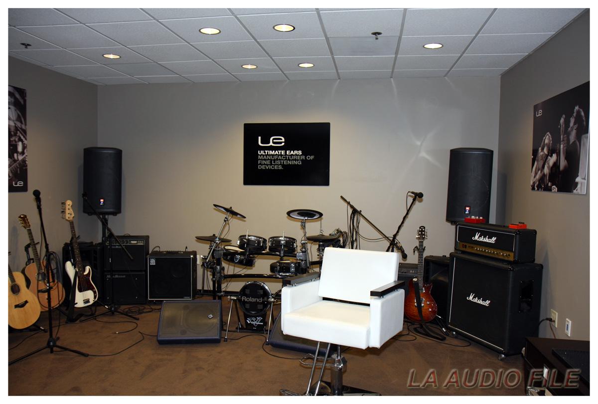 Instrument Practice Rooms Design