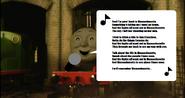 James singing