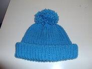 Blue Wool Hat