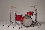 Red Ludwig Drum Kit