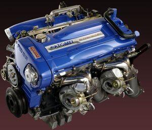 Tomei-rb26dett-engine