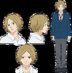 Aya Kominato diseño anime