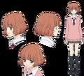 Yuri Makita Anime Concept