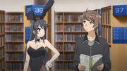 Mai and Sakuta meet