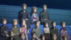Sakuta Rio and Yuuma watch fireworks