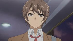Sakuta Azusagawa Anime - Screenshot 1