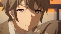 Sakuta almost weeps