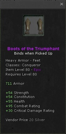 Boots of the triumphant