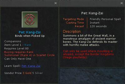 Pet kang zai