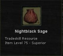 Nightblack Sage
