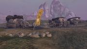 GtK Wrecked Caravan