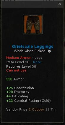 Griefscale Leggings
