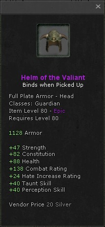 Helm of the valiant