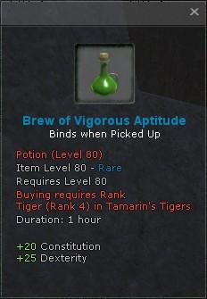 Brew of vigorous aptitude