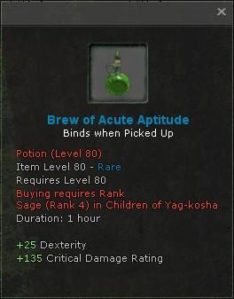 Brew of acute aptitude
