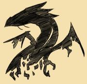 Broken dragon tattoo