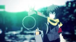 Ep 2 Yukimura aims a gun