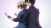 Ep 3 Midori gives Tachibana a body check