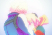 Ep 08 Matsuoka comforts Tachibana