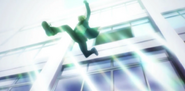 Ep 1 Tachibana jumps out of a window