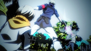 Matsuoka rescues Yukki and Hotaru