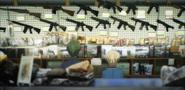 Ep 3 Midori and Tachibana look at guns
