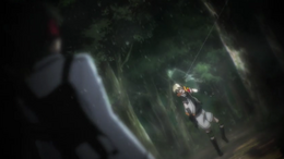 Ep 08 Tachibana's shot in the head